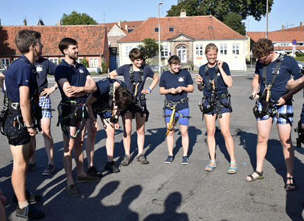 Getting ready for the challenge (Image: FAU/Susanne Langer)