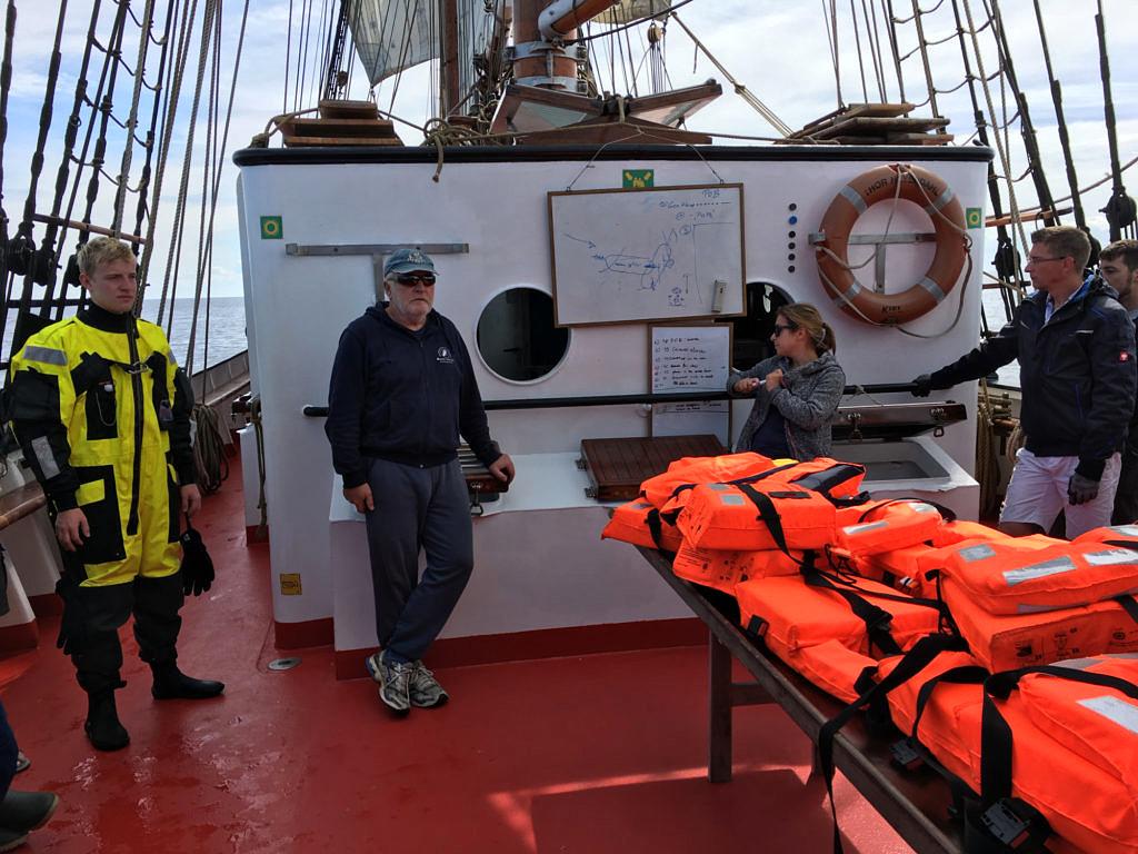 people on deck